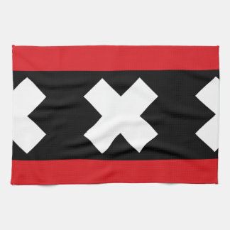 Flag of Amsterdam Towel