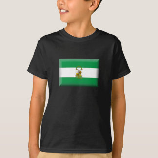 Flag of Andalucia - Spain T-Shirt