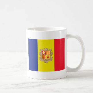 Flag of Andorra Coffee Mug