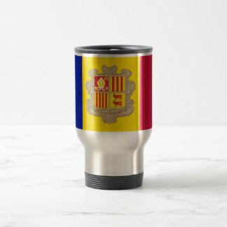 Flag of Andorra Travel/Commuter Mug