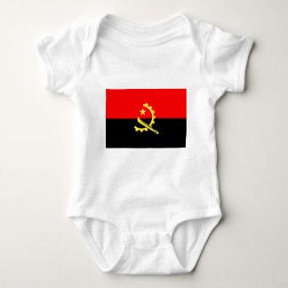 Flag of Angola Baby Bodysuit