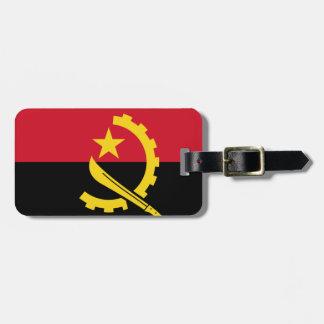 Flag of Angola - Bandeira de Angola Bag Tag