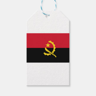Flag of Angola - Bandeira de Angola Gift Tags