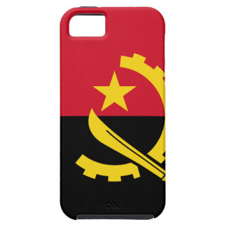 Flag of Angola - Bandeira de Angola iPhone 5 Cases