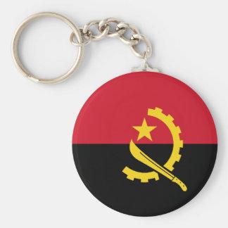 Flag of Angola - Bandeira de Angola Key Ring