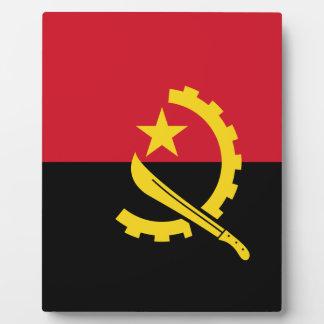 Flag of Angola - Bandeira de Angola Plaque