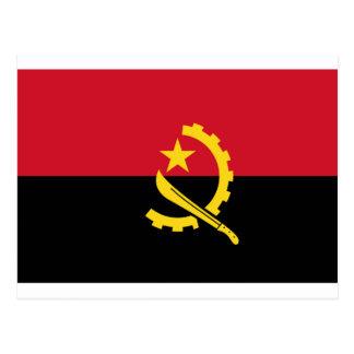 Flag of Angola - Bandeira de Angola Postcard