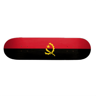 Flag of Angola Skateboard Deck