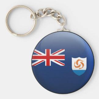 Flag of Anguilla Key Ring
