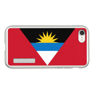 Flag of Antigua and Barbuda Silver iPhone Case