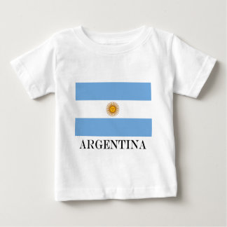 Flag of Argentina Baby T-Shirt
