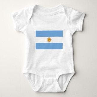 Flag of Argentina - Bandera de Argentina Baby Bodysuit
