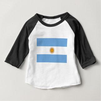 Flag of Argentina - Bandera de Argentina Baby T-Shirt