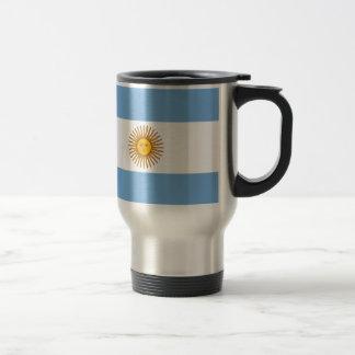 Flag of Argentina - Bandera de Argentina Travel Mug