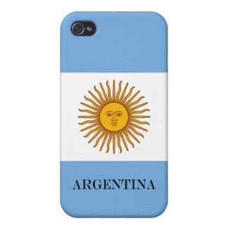 Flag of Argentina Cases For iPhone 4