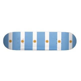 Flag of Argentina Custom Skateboard