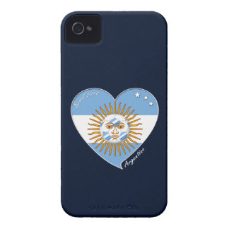 Flag of ARGENTINA SOCCER selection wins Case-Mate iPhone 4 Case