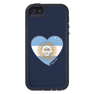 Flag of ARGENTINA SOCCER selection wins iPhone 5 Case