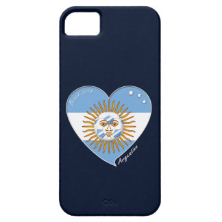 Flag of ARGENTINA SOCCER selection wins iPhone 5 Cases