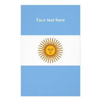 Flag of Argentina Stationery