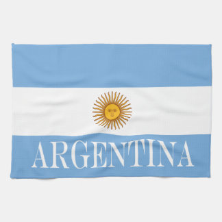 Flag of Argentina Tea Towel