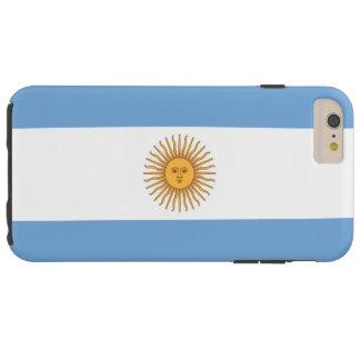 Flag of Argentina Tough iPhone 6 Plus Case