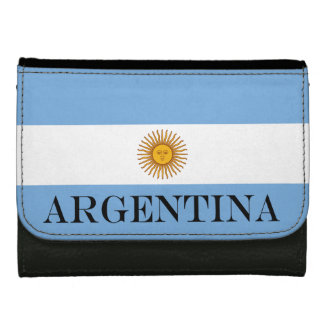 Flag of Argentina Women's Wallet