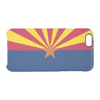 Flag of Arizona Clear iPhone Case