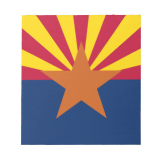 Flag Of Arizona Notepad