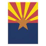 Flag of Arizona Personalized Invitations