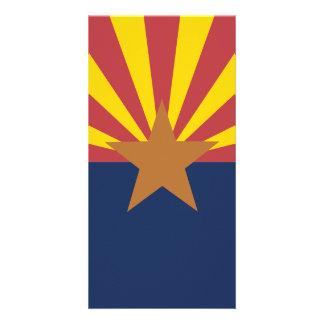 Flag of Arizona Photo Card