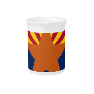 Flag Of Arizona Pitcher