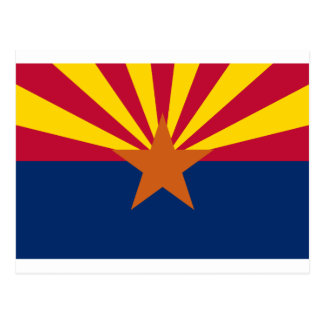 Flag of Arizona Postcard