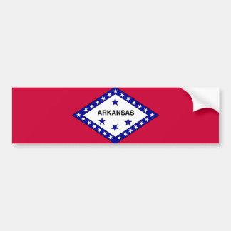 Flag of Arkansas Bumper Sticker