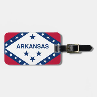Flag Of Arkansas Luggage Tag