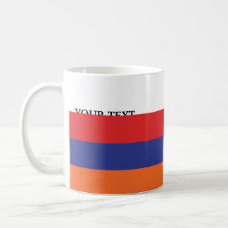 Flag of Armenia Basic White Mug