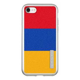 Flag of Armenia Silver iPhone Case