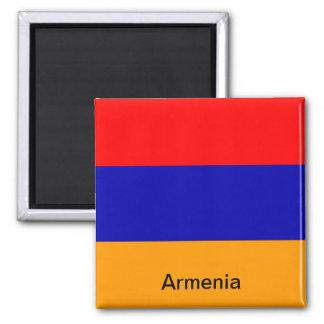 Flag of Armenia Square Magnet
