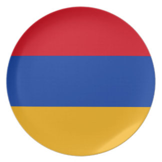 Flag of Armenia - Yeraguyn Dinner Plates