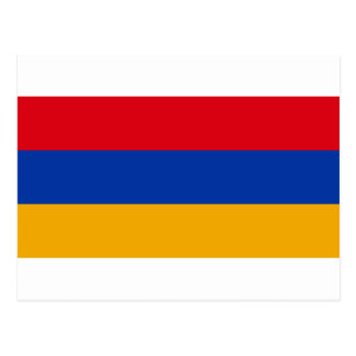 Flag of Armenia - Yeraguyn Postcard