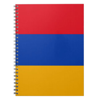 Flag of Armenia - Yeraguyn Spiral Notebooks