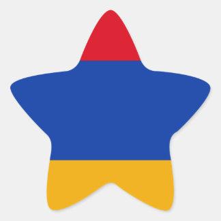Flag of Armenia - Yeraguyn Star Sticker