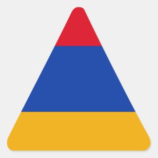 Flag of Armenia - Yeraguyn Triangle Sticker