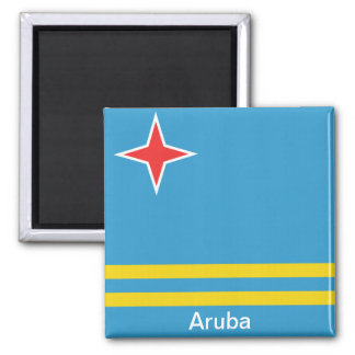 Flag of Aruba Magnet