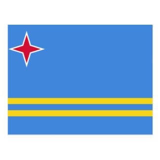 Flag of Aruba Postcard