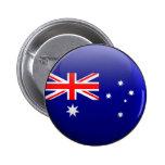 Flag of Australia Button