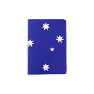 Flag of Australia Passport Holder