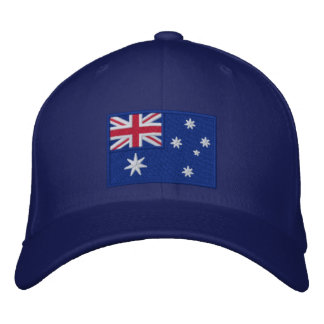Flag of Australia Personalized Embroidered Hat