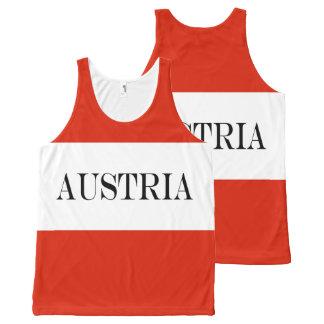 Flag of Austria All-Over Print Singlet