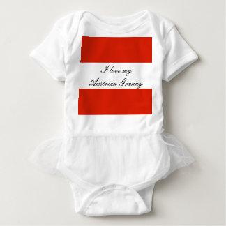 Flag of Austria Baby Bodysuit
